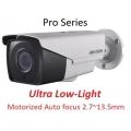 Влагозащитена моторизирана варифокална 4в1 2MPix камера Hikvision DS-2CE16D8T-IT3ZF@