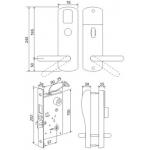 Електромеханична брава за врата Z-8 EHT