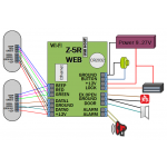 WiFi мрежови контролер Z-5R Web